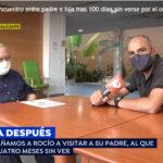 REENCUENTRO PADRE E HIJA TRAS 100 DÍAS SIN VERSE (EMITIDO POR ANTENA 3 - ESPEJO PÚBLICO)