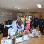 FUNDACIÓN CASAVERDE RECOLECTA 378 KILOS DE COMIDA EN COLABORACIÓN CON FESBAL