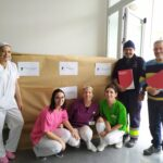 GRUPO CASAVERDE DONA DESDE LA FUNDACIÓN CASAVERDE 376 KILOS DE TEXTIL A RETEXTIL Caritas