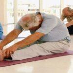 El yoga en las personas mayores