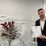 GRUPO CASAVERDE RENUEVA SU CERTIFICADO DE CALIDAD ISO 9001:2015
